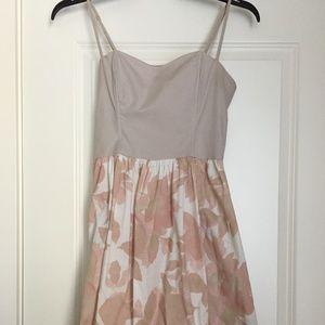 H&M Sundress | Cream and Peach Flowers